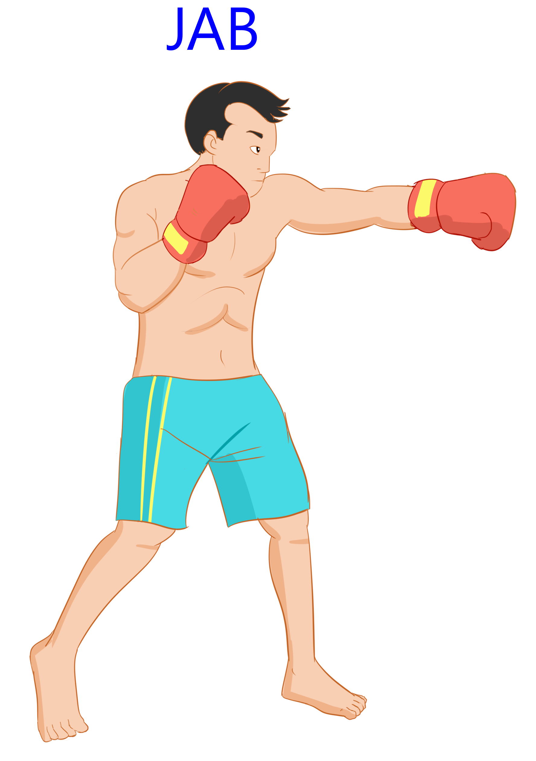 Back to the Basic Punches: Naming The 6-Punch Boxing