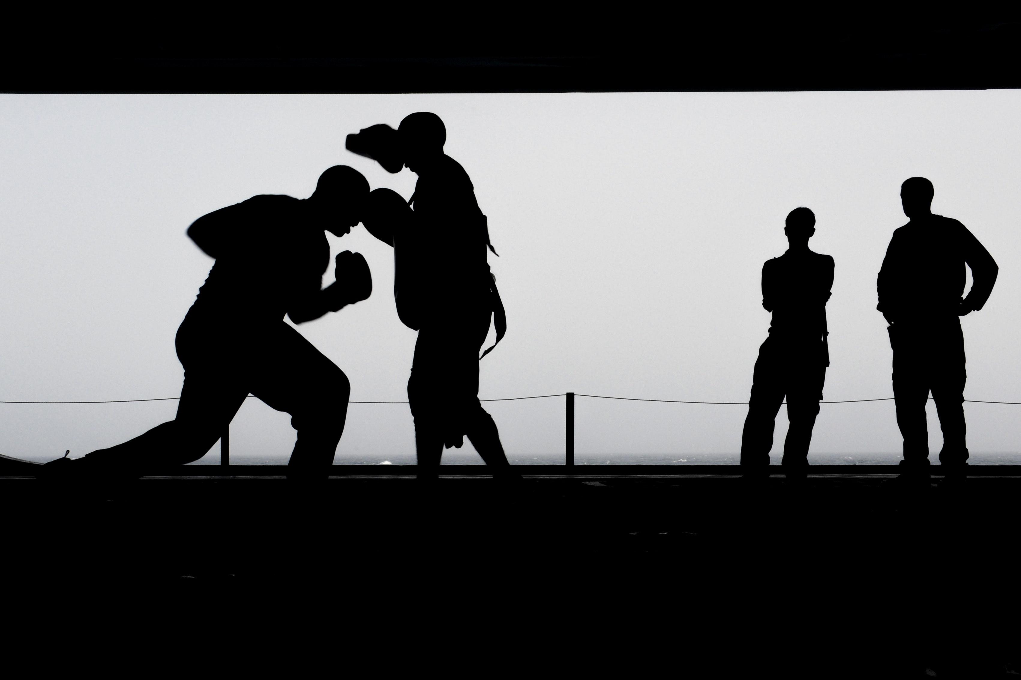 boxing balance exercise