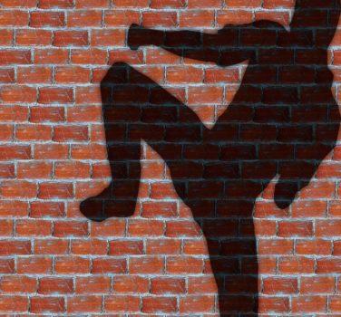 shadow kickboxing